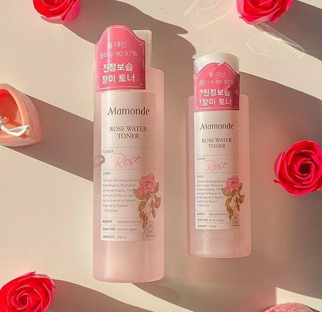 Nước Cân Bằng Mamonde Rose Water #Rose 500ML