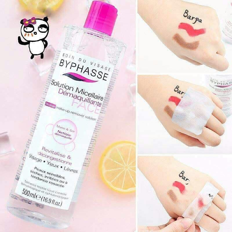 NướcTẩy TrangByphasse Solution Micerallaire Face 500ml