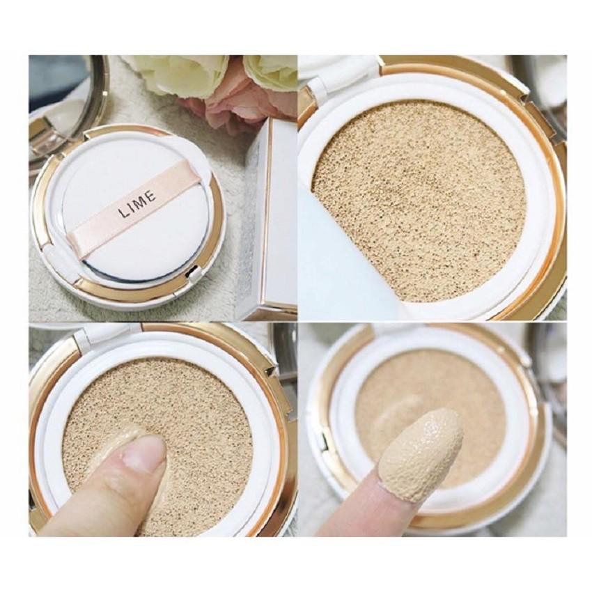 Phấn Nước Lime V Collagen Ample Cushion SPF 50+/PA+++ 20g #10