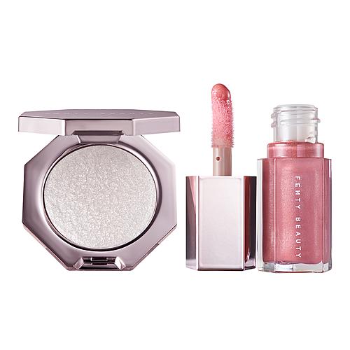 Set Fenty Beauty Mini Lip Gloss and Highlighter