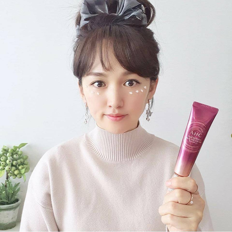 Kem Mắt AHC Time Rewind Real Eye Cream For Face 30ml