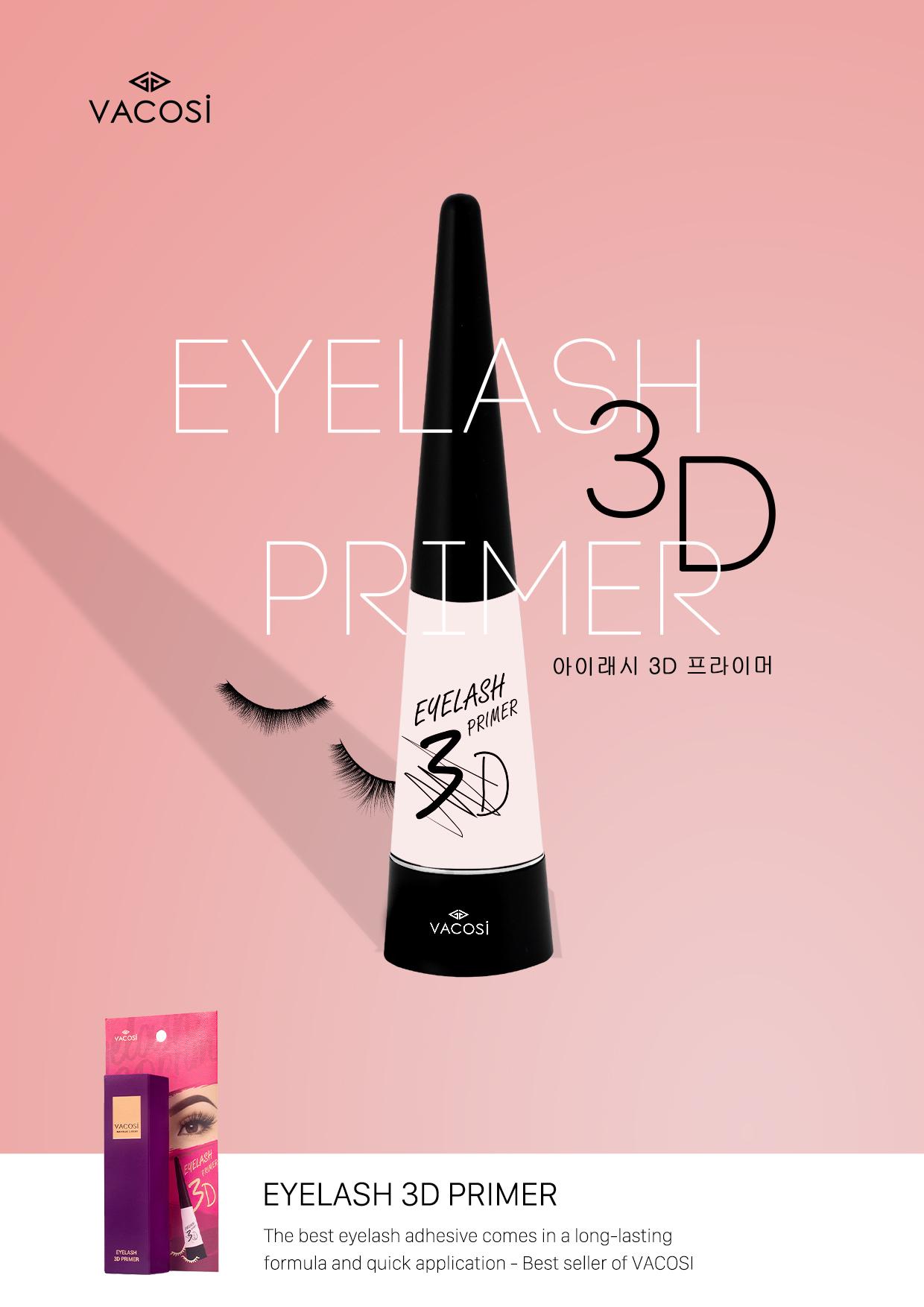 ACC Keo Dán Mi Giả Vacosi Eyelash 3D Primer - VM12