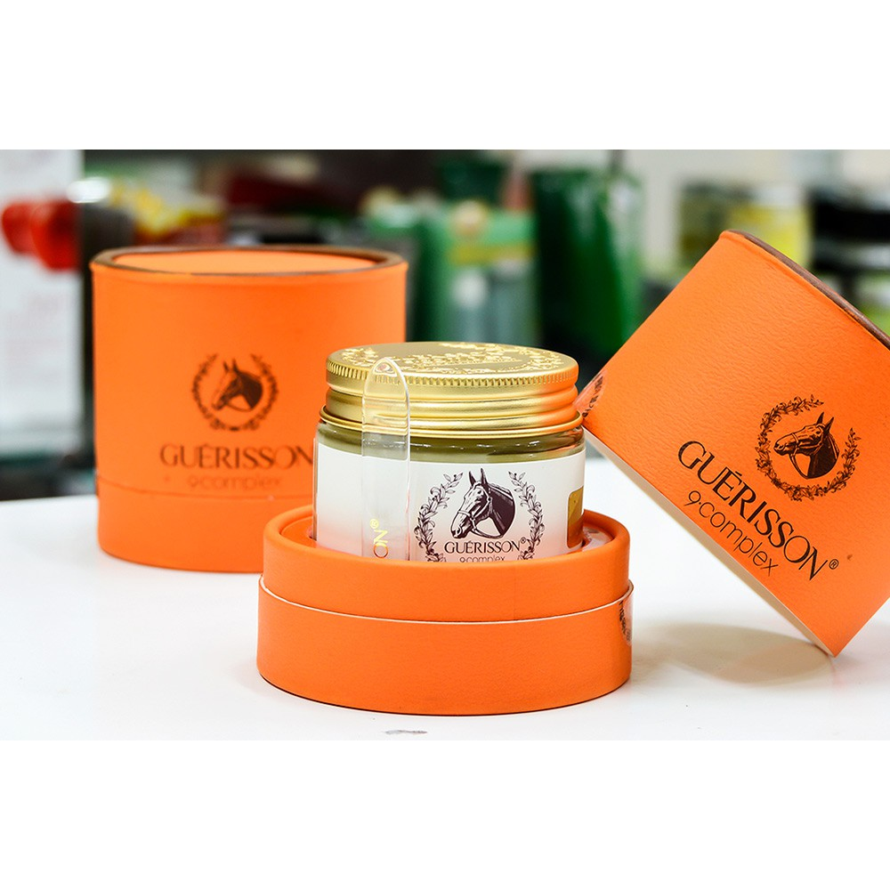 Kem Dưỡng Dầu Ngựa Guerisson 9 Complex Horse Oil Cream 70g [HỘP TRÒN]