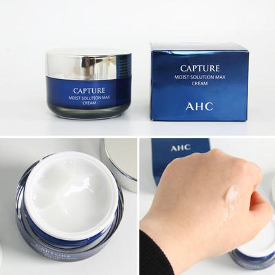 Kem Dưỡng AHC Capture Moist Solution Max Cream 50ml (Xanh)
