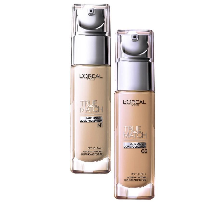 Kem Nền L'Oreal True Match Liquid G2 Gold Porcelain