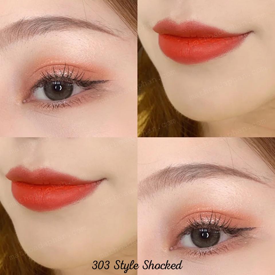 Son MAC Powder Kiss Lipstick #303 Style Shocked