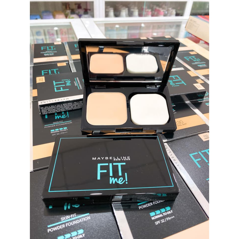 Phấn Phủ Maybelline Fit Me Skin Fit #220 Natural Beige