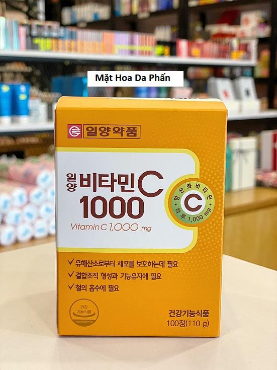 TPCN VitaminC 1000mg 100 Viên Hàn Quốc