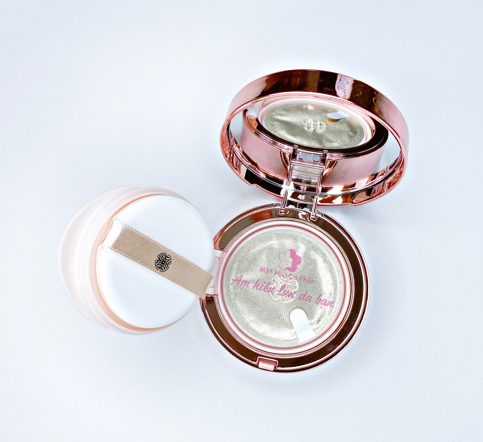 Set OHUI Ultimate Cover Cushion Special Edition #01 Milk Beige