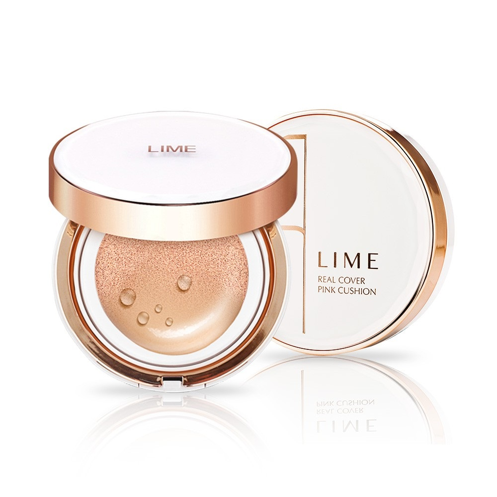 Cushion Lime Real Cover Pink Spf 50+ No.25