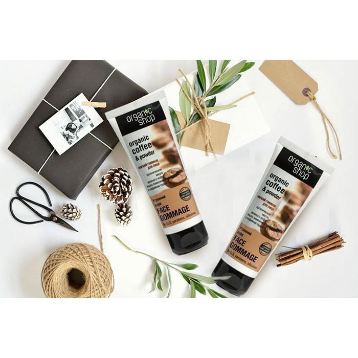 Tẩy TBC Organic Shop Coffee & Powder 75ml