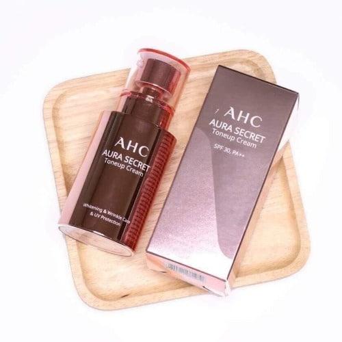 Kem dưỡng AHC Aura Secret Toneup Cream 50g SPF30+
