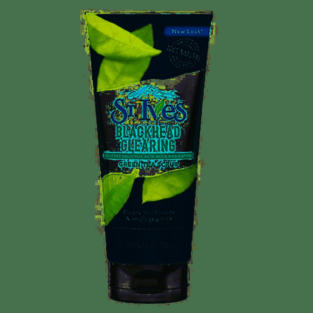 SRM ST.Ives Blackhead Cleansing Scrub 170G #Green Tea