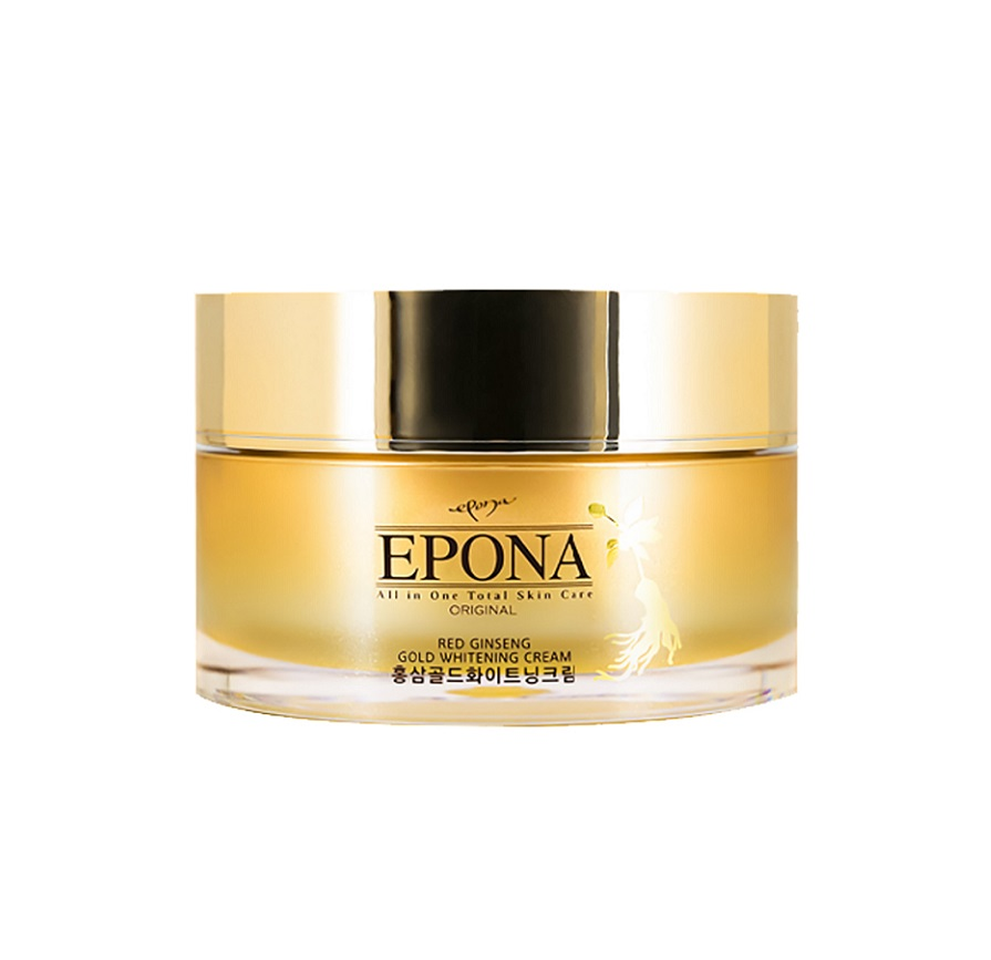 Kem Dưỡng Trị Thâm Nám & Cải Thiện Nếp Nhăn Epona Red Ginseng Gold Whitening Cream 50g
