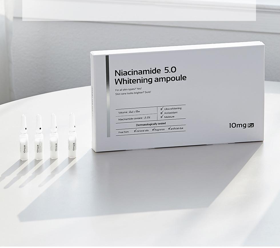 Tinh Chất Niacinamide 5.0 Whitening Ampoule 10Mg Rx (2Ml X 10Ea)