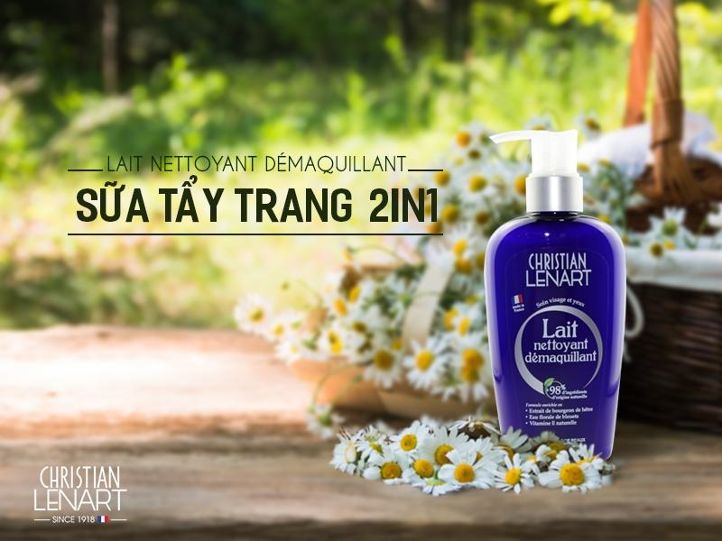 Tẩy Trang Dạng Sữa Christian Lenart Lait Nettoyant 200ml