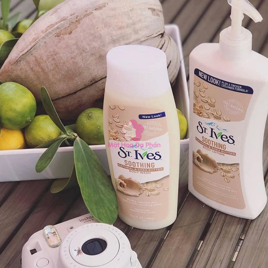 Sữa Tắm ST.Ives Soothing Oatmeal & Shea Butter 709Ml