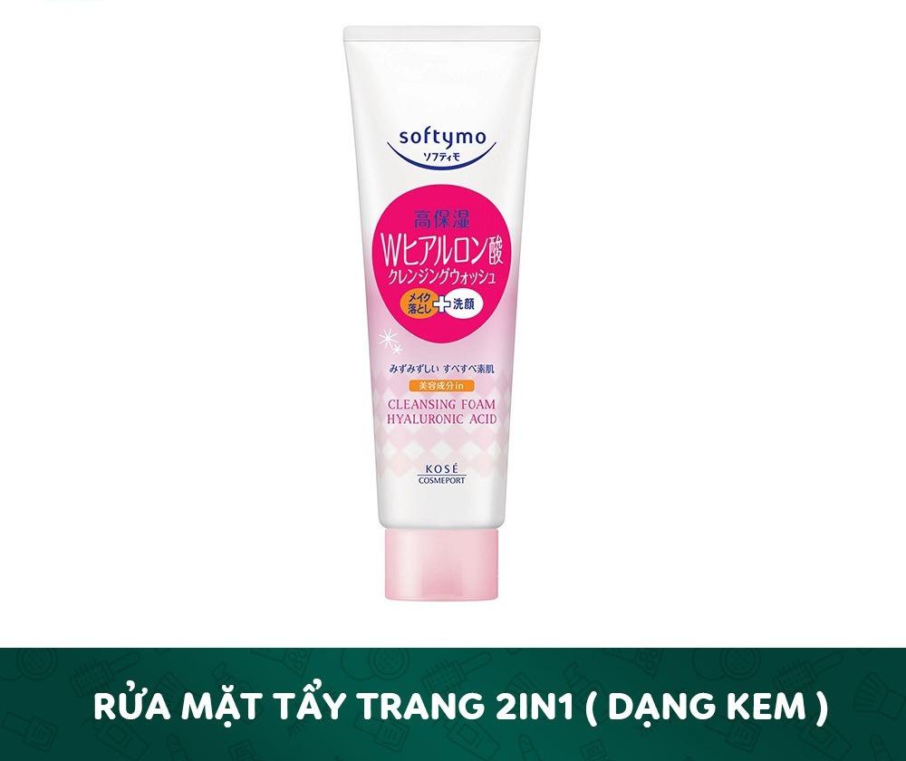 SRM Kose Cleansing Foam 190g #Hyaluronic Acid