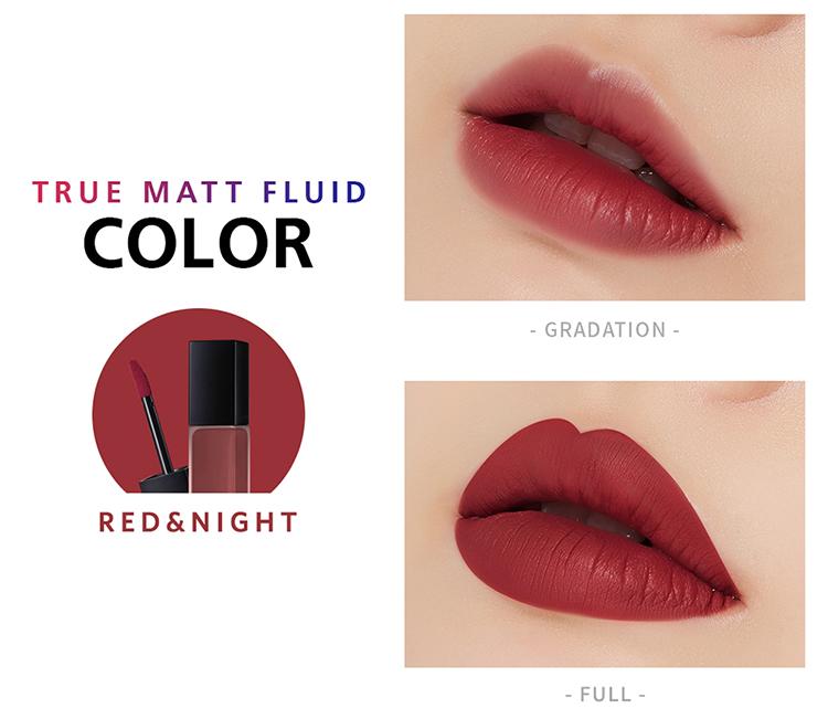 Son Kem Apieu True Matte Fluid Rd04 Red&Night