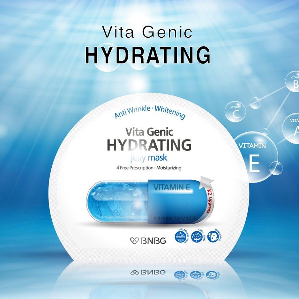 Mặt Nạ Cấp Nước Dưỡng Ẩm BNBG Vita Genic Hydrating Jelly Mask 30ml
