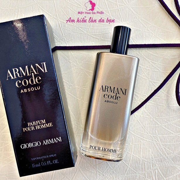 Nước Hoa Giorgio Armani Code Absolu EDP 15ml