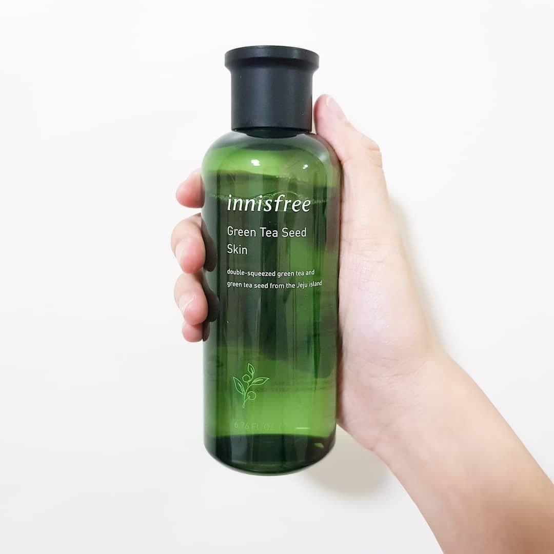 Nước Cân Bằng Innisfree The Green Tea Seed Skin 200ml