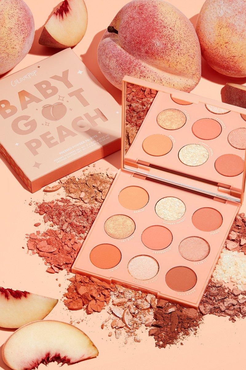 Bảng Màu Mắt Colourpop Baby Got Peach (9 Ô)
