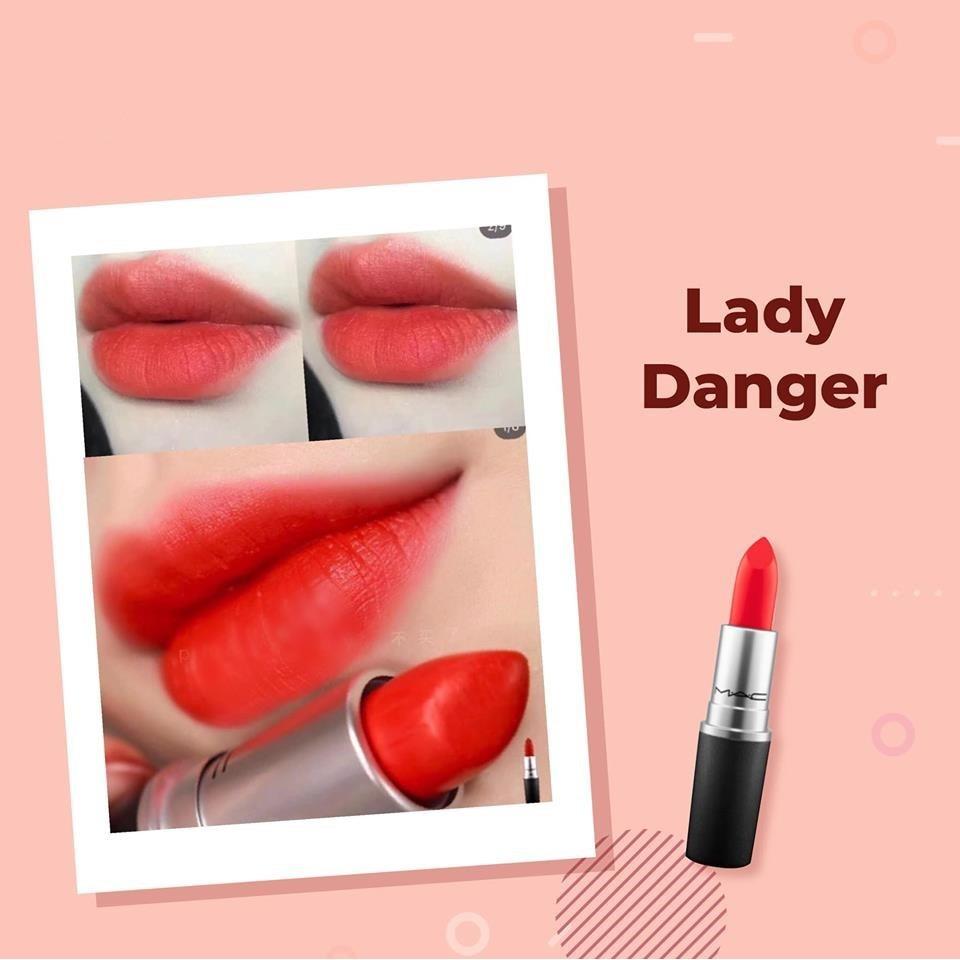 Son MAC Retro Matte Lipstick #702 Dangerous