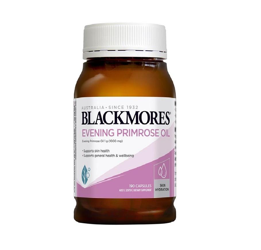 TPCN Black Mores Evening Primose Oil (190 Viên) Mẫu Mới 2020