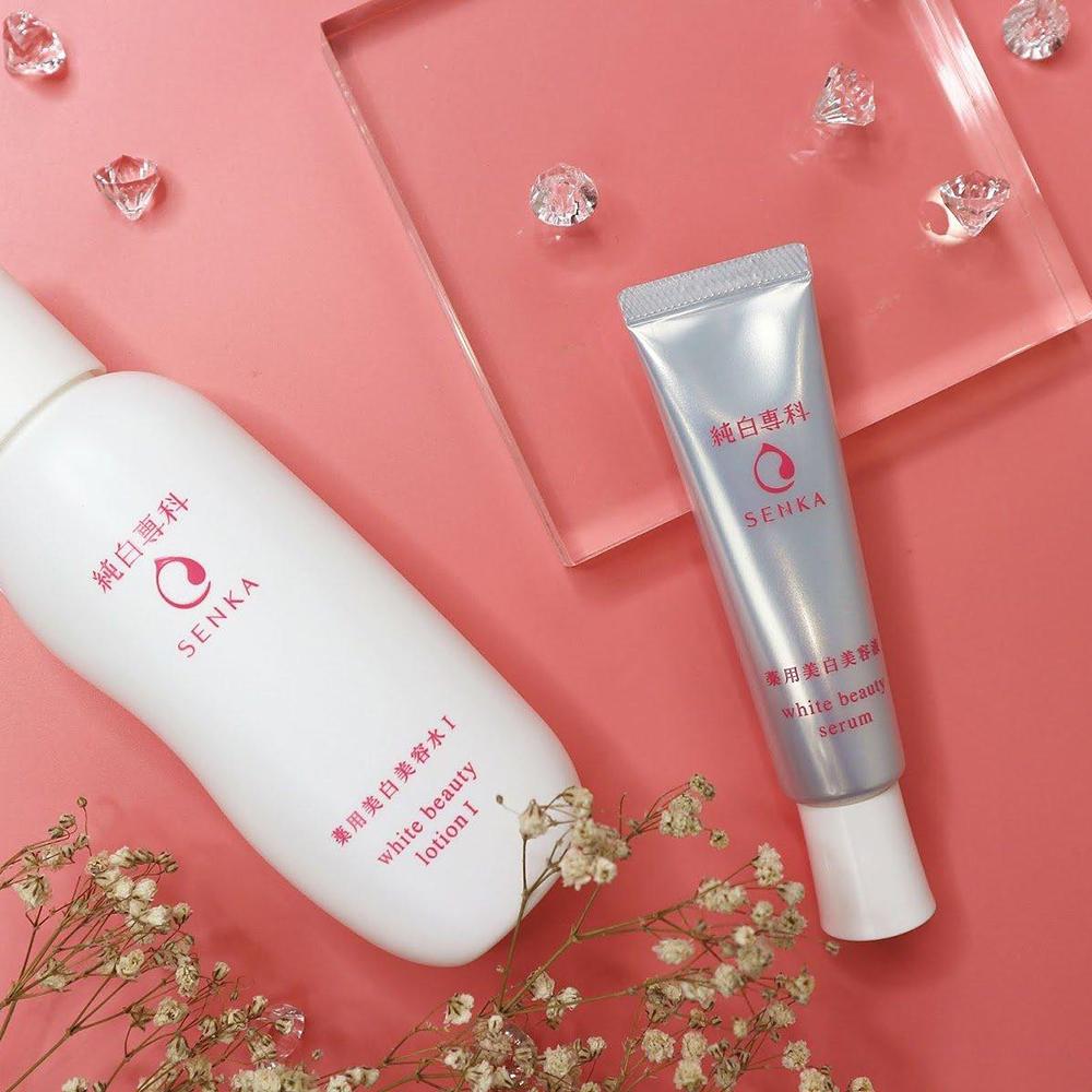 Tinh Chất Senka White Beauty Serum 35g