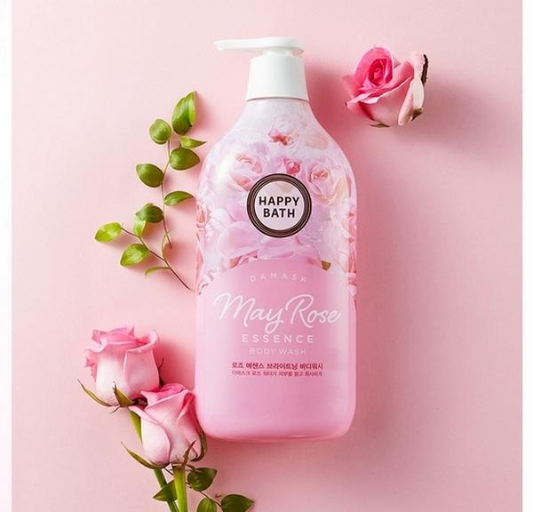 Sữa Tắm Happy Bath Provence Essence Body Wash 900g #May Rose