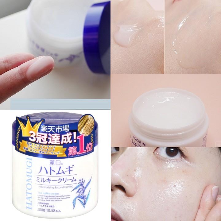 Kem Dưỡng Hatomugi The Milky Cream 300g
