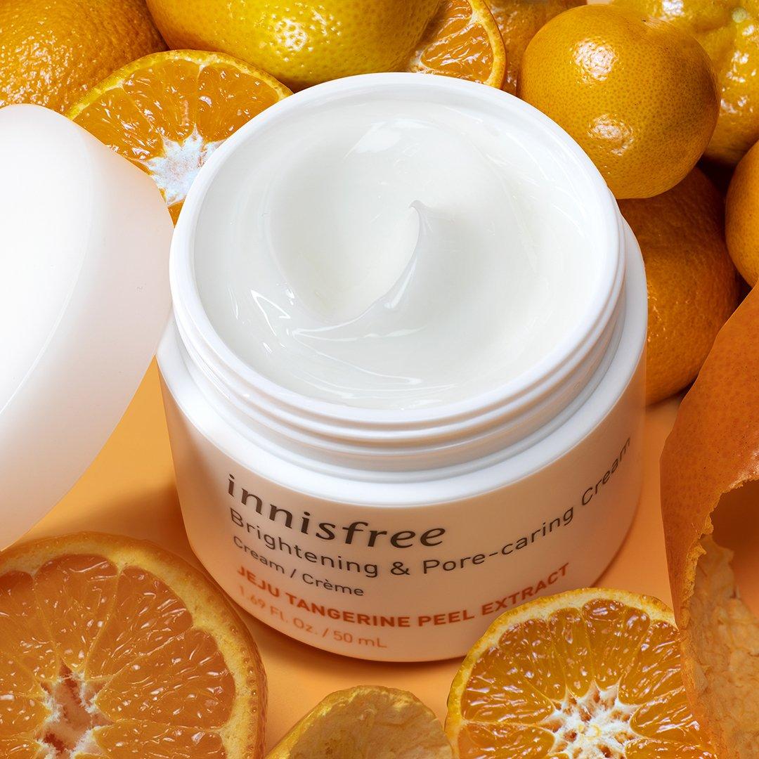 Kem Dưỡng Trắng Da Innisfree Brightening Pore Priming Cream 50Ml