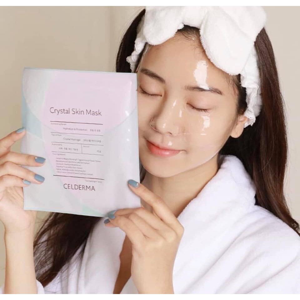 Mặt Nạ Celderma Crystal Skin Mask 23g