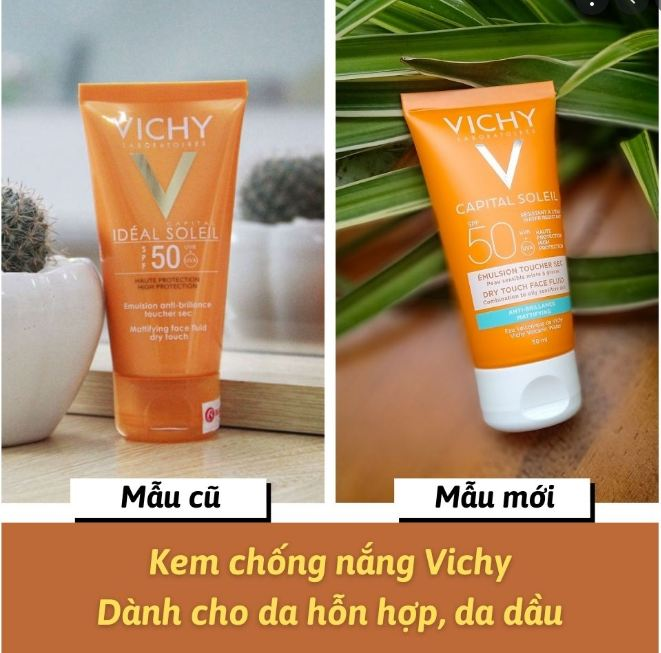 Chống Nắng Vichy Emulsion Anti - Brillance 50ml