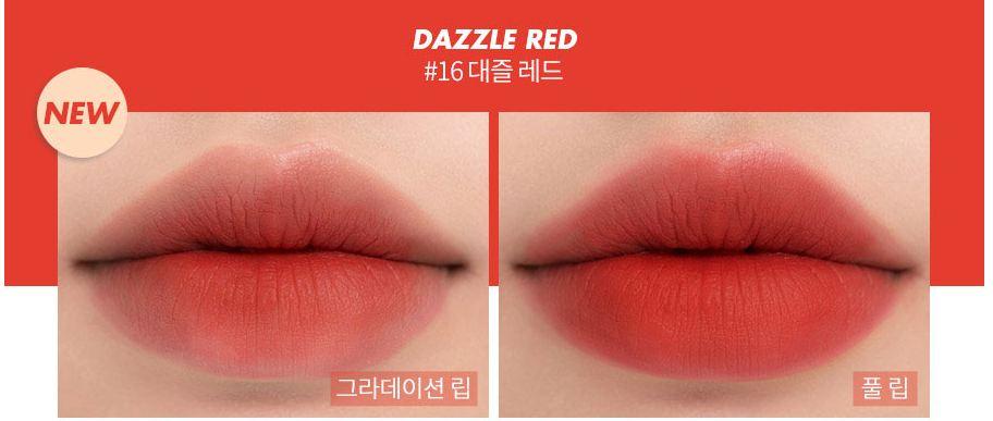 Son Rom&nd Zero Matte #16 Dazzle Red