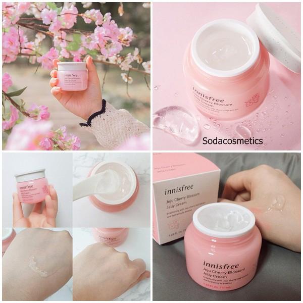 Kem Dưỡng Innisfree Jeju Cherry Blossom Tone-up Cream 50ml