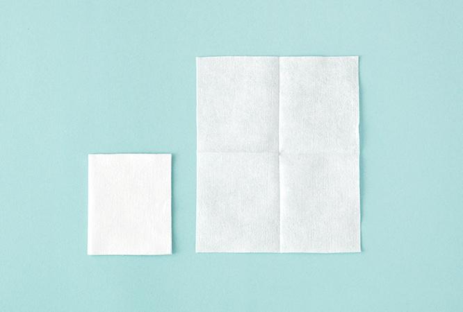 ACC Bông Cotton My Makeup Cleanser One Shot Cotton Tissue (75 Miếng)