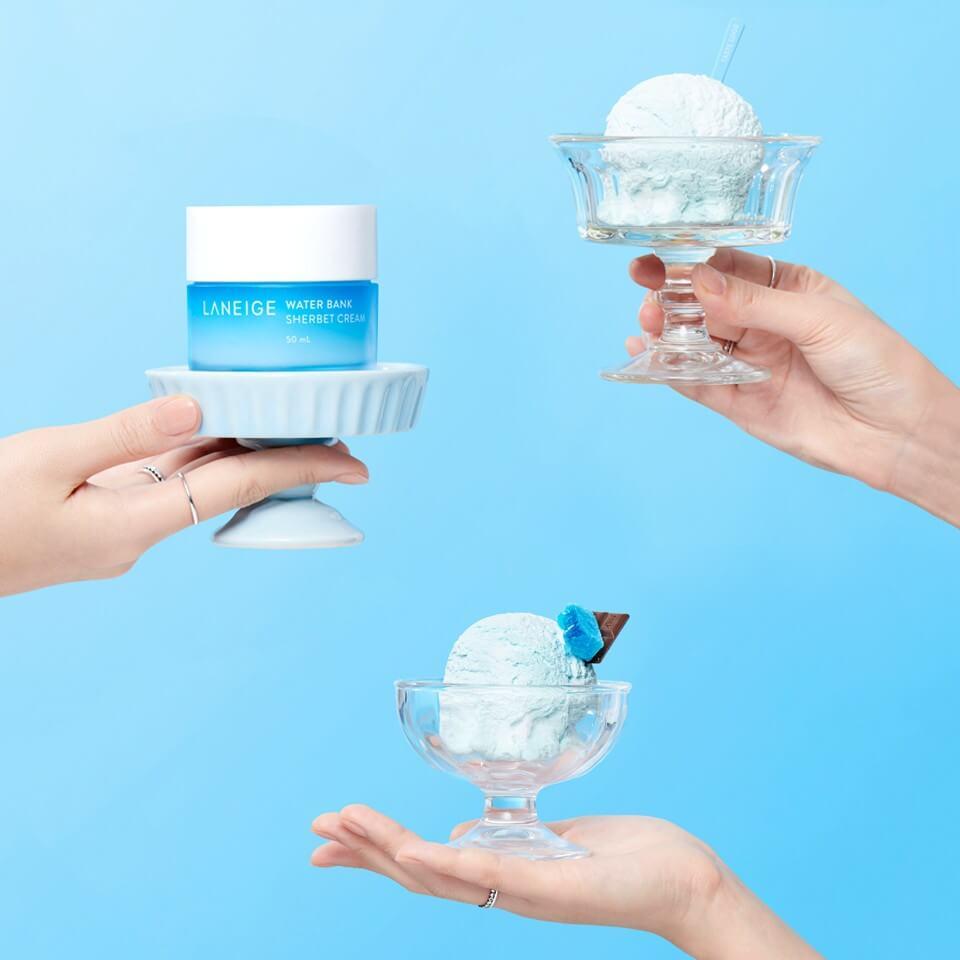 Kem Dưỡng Laneige Water Bank Sherbet Cream 50ml
