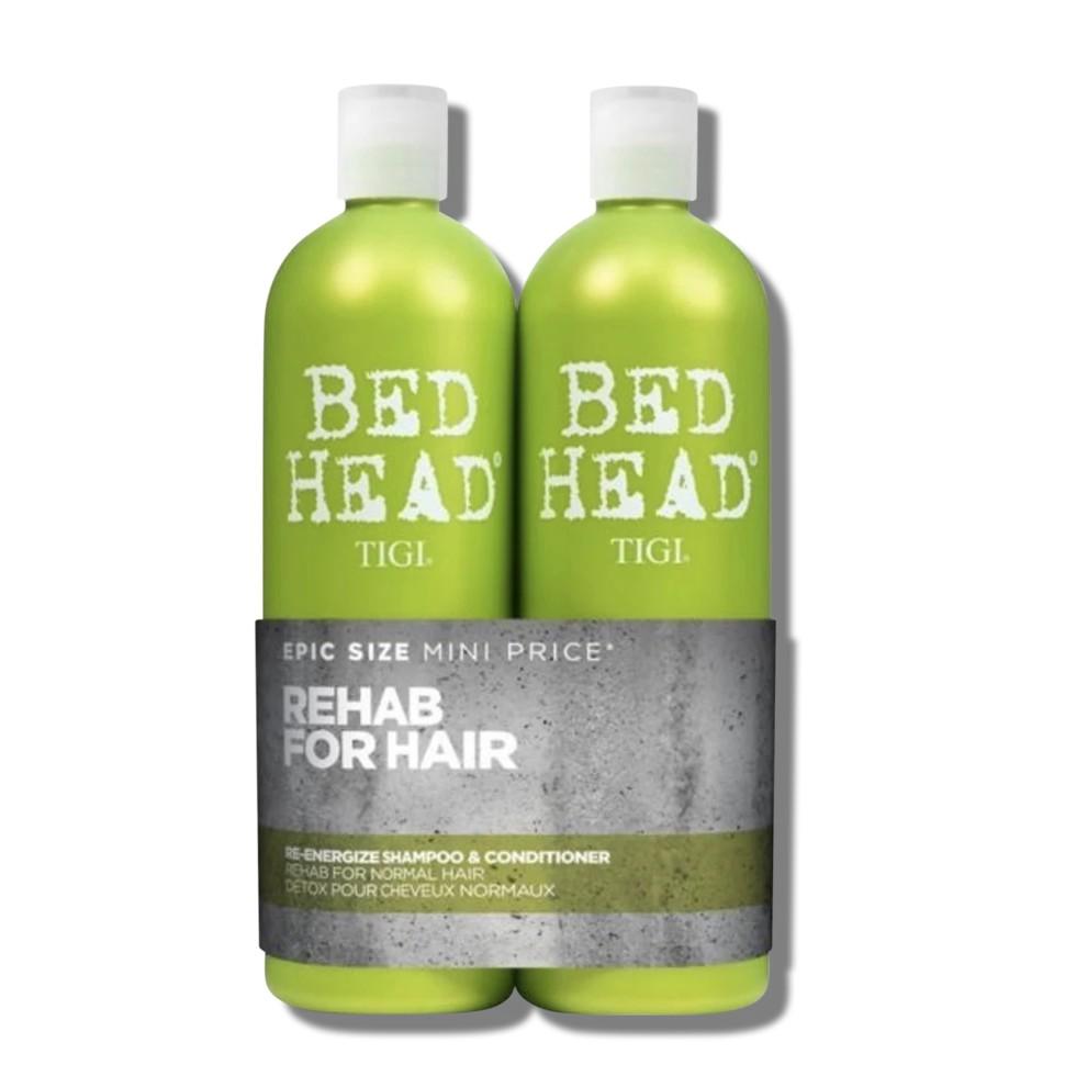 Bộ Gội Xả Tigi Haircare Bed Head Rehab For Hair Shampoo and Conditioner (750ml)