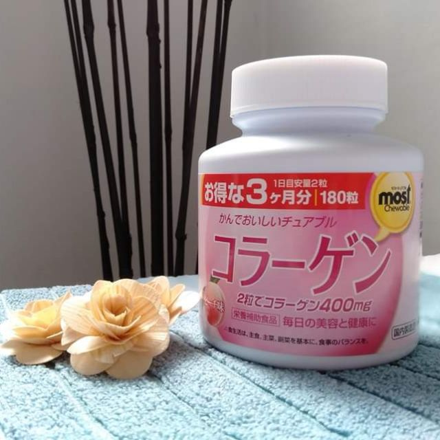 TPCN Viên Uống Orihiro Collagen 400mg #Peach