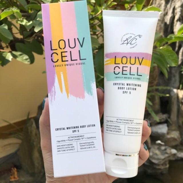 Sữa Dưỡng Thể Louv Cell Crystal 120ML
