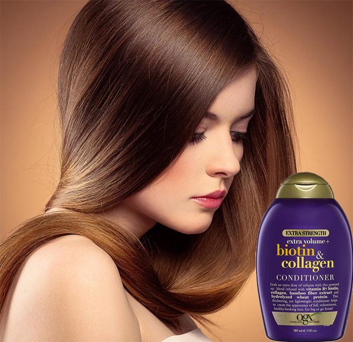 Dầu Xả Biotin & Collagen OGX 385ml