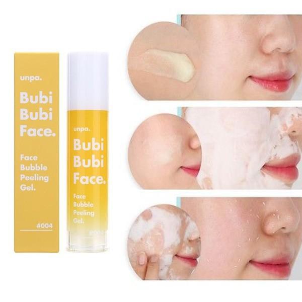 Tẩy Tế bào chết Face BuBB Creamle Peeling Gel Bubi Unpa 50ml