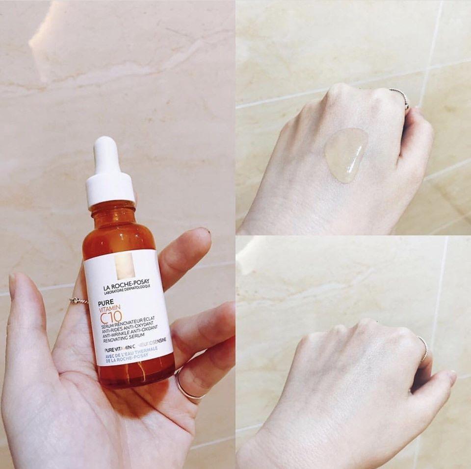 Dưỡng Chất Giúp Cải Thiện Và Làm Sáng Da La Roche-Posay Pure Vitamin C10 30ml