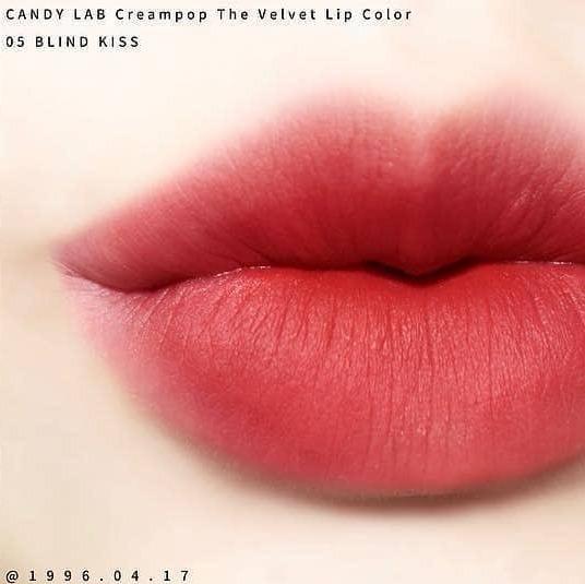 Son Candy Lab Creampop The Velvet Lip Color #05