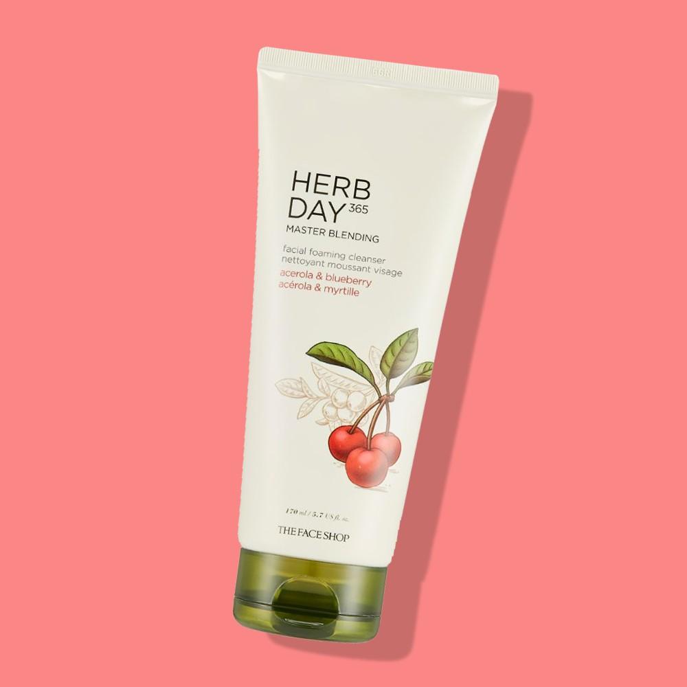 SRM TheFaceShop Herb Day 365 Master Blending Acerola & Blueberry 170ml