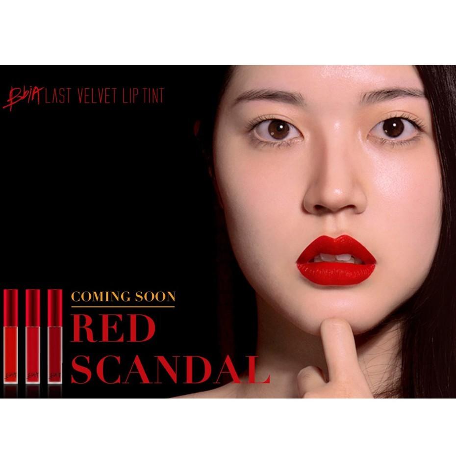 Son Kem Lì Bbia Last Velvet Lip Tint Ver 7 #33 Parting Scandal
