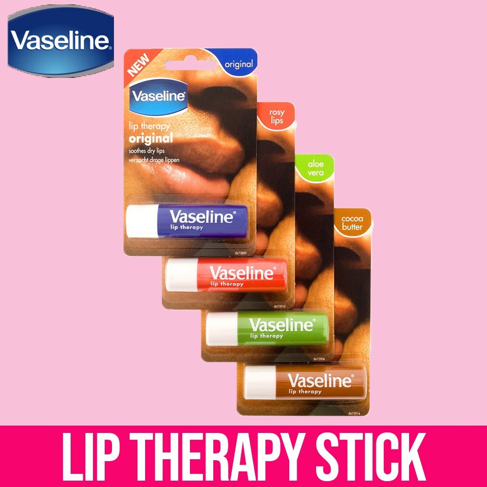 Son Dưỡng Vaseline Lip Therapy4.8g #Cocoa Butter