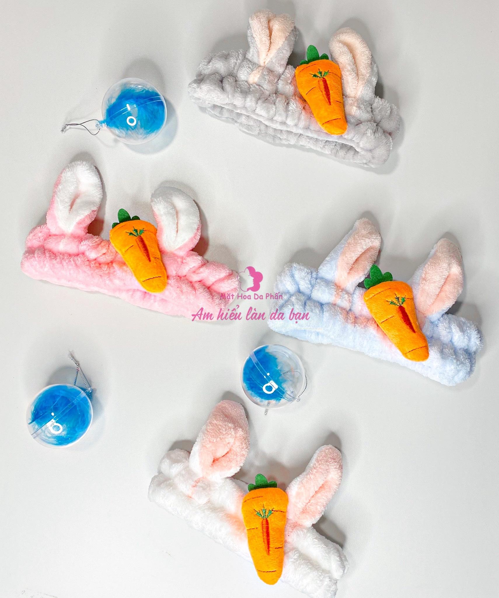 Băng Đô Thỏ Carot Các Màu